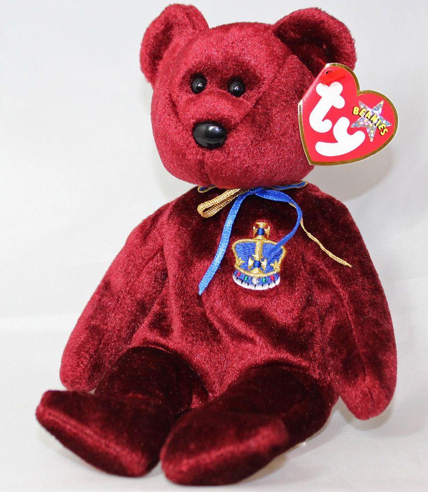 Ty Beanie Baby Buckingham - MWMT 29c82f7d38b9