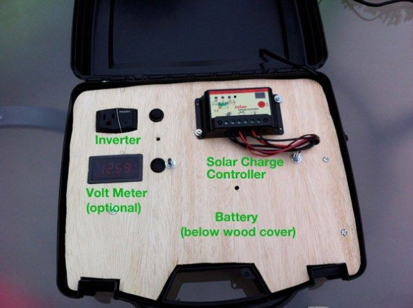 Solar generator diagram solar pinterest solar generator build your own portable solar generator want to build your own portable solar power generator to take with you on camping trips or for use in an emergency asfbconference2016 Choice Image