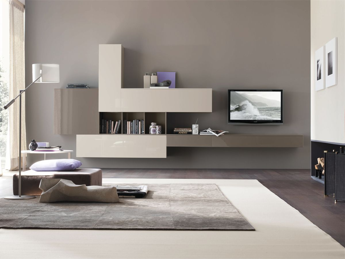 the tomasella atlante display compositions | tv wall unit