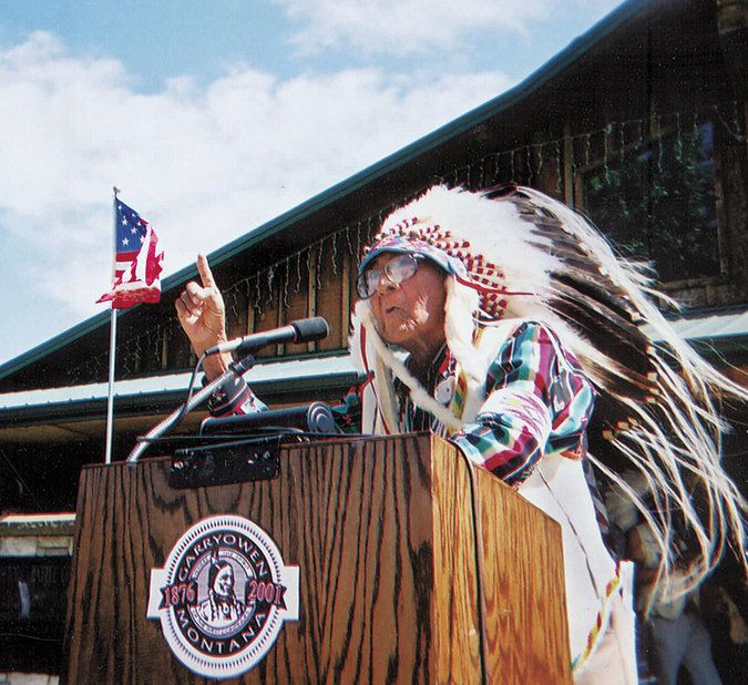 A member of the Crow Tribe, he was the last living person to have heard direct oral testimony from people who were present before the Battle of the Little Bighorn in 1876.