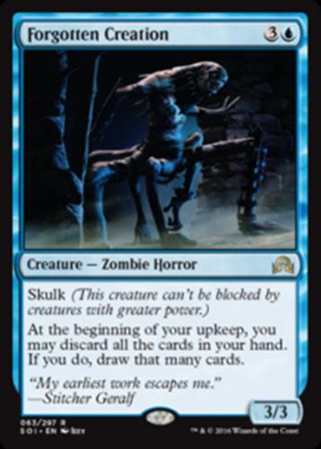 mtg mono blue zombie mill commander edh deck stitcher geralf magic