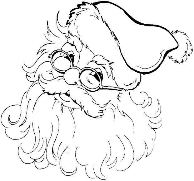 santa Christmas coloring page Christmas-Winter-New Years - copy coloring sheets of santa for free