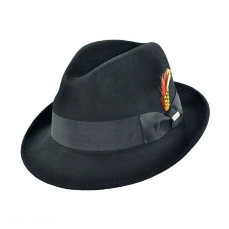 8e5c7d4f0bf Blues Trilby Crushable Fedora Hat available at  VillageHatShop
