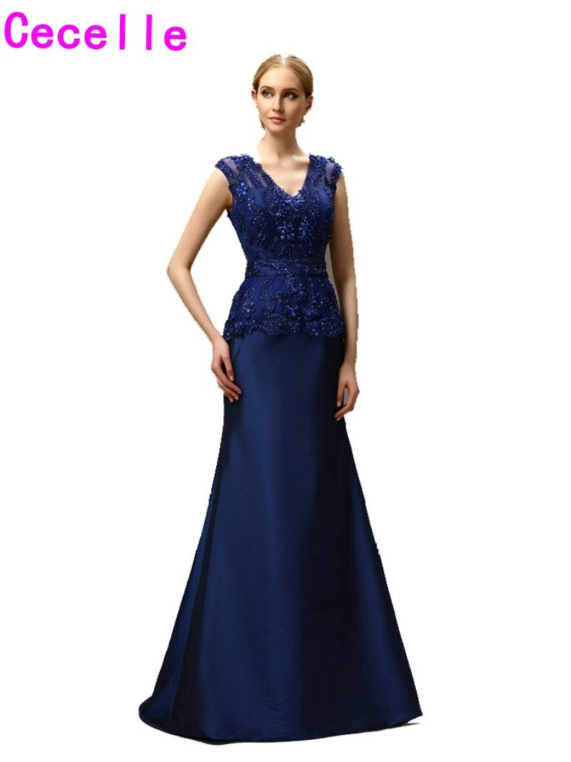Beaded Taffeta Mother of the Bride Dresses