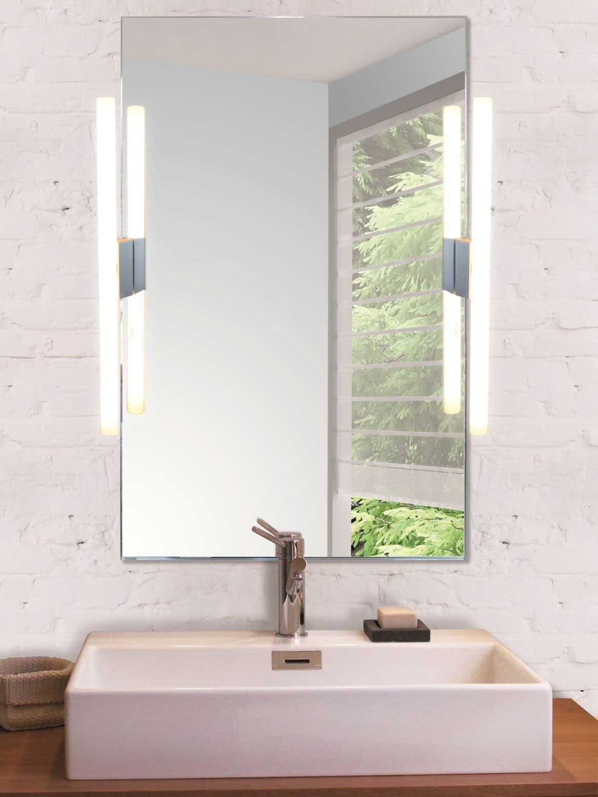 Puristische Wandleuchte Fur Toiletten Und Bad Spiegel Von Edition Casa Lumi Bild 6 Puristische Spiegel Badezimmerleuchten Lampen Bad Bad Spiegel Beleuchtung