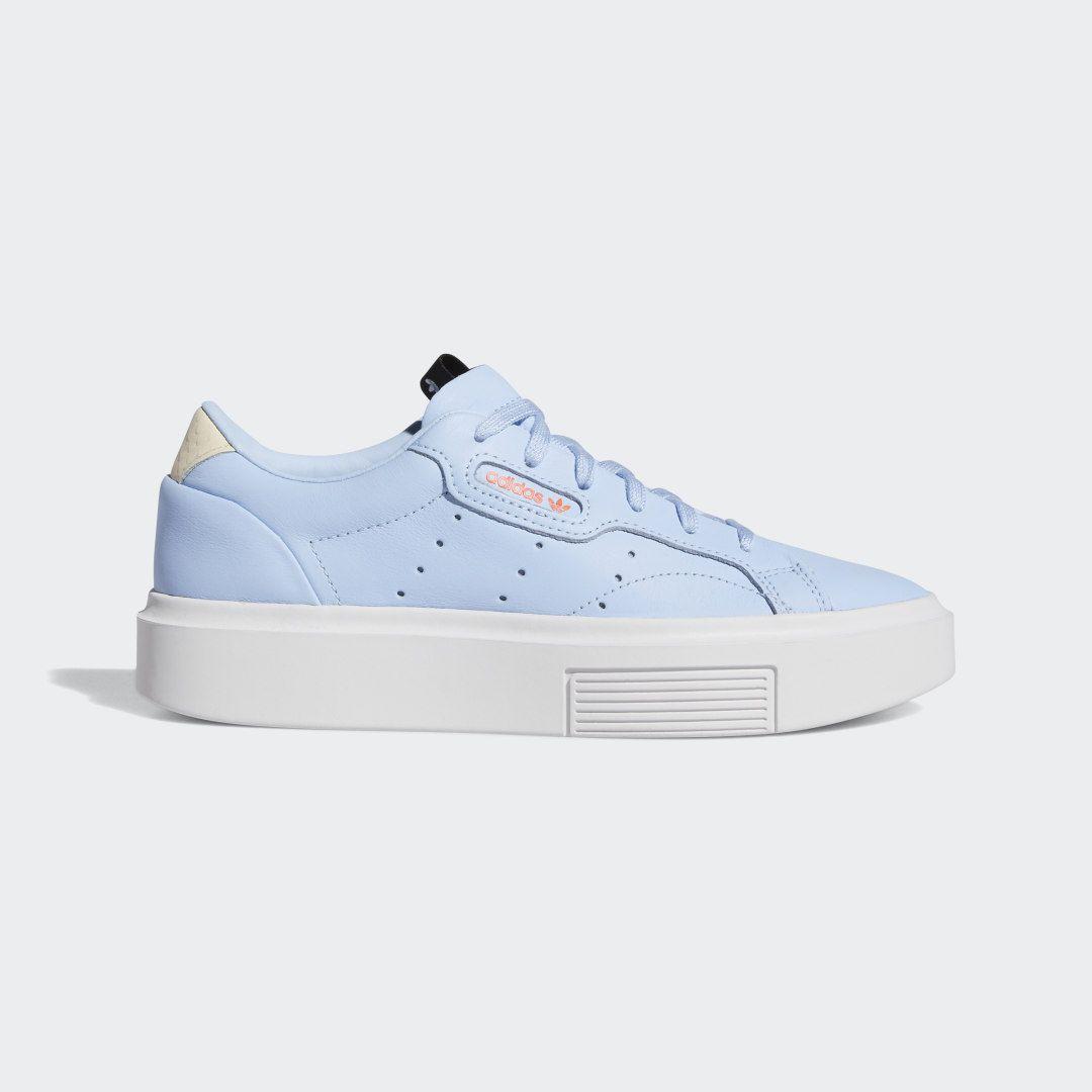 Química Integral Tacón  adidas Sleek Super Shoes - Blue | adidas US in 2020 | Adidas outfit shoes,  Adidas sneakers women, Blue shoes