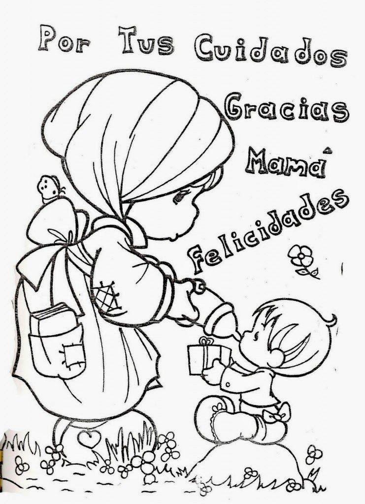 Resultado De Imagen Para Dibujos Tiernos Para El Dia De La Madre