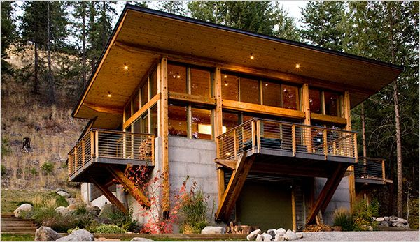 A Cabin Is Not A Shack Published 2008 Modern Log Cabins Cabin Design Contemporary Cabin