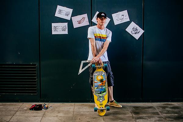 Dilakonektor on Behance Skateboarding, longboarding, boardsports, passion, people, portraits, youth, skate.
