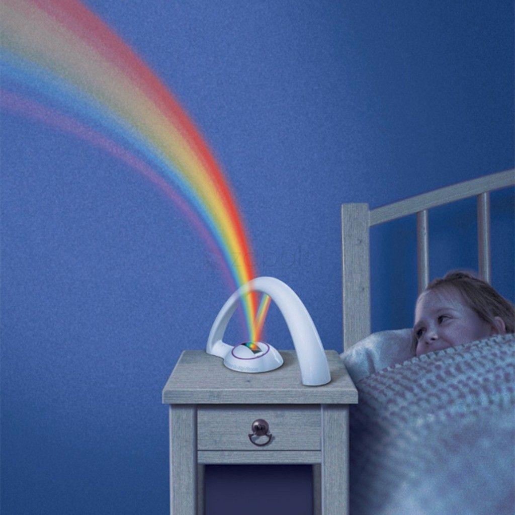 Rainbow Kids Room: Rainbow Projector LED Night Light For Kids Children-Make