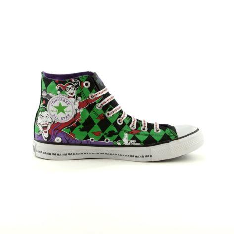 Converse All Star Hi Sneaker, Black Green Neon   Journeys Shoes
