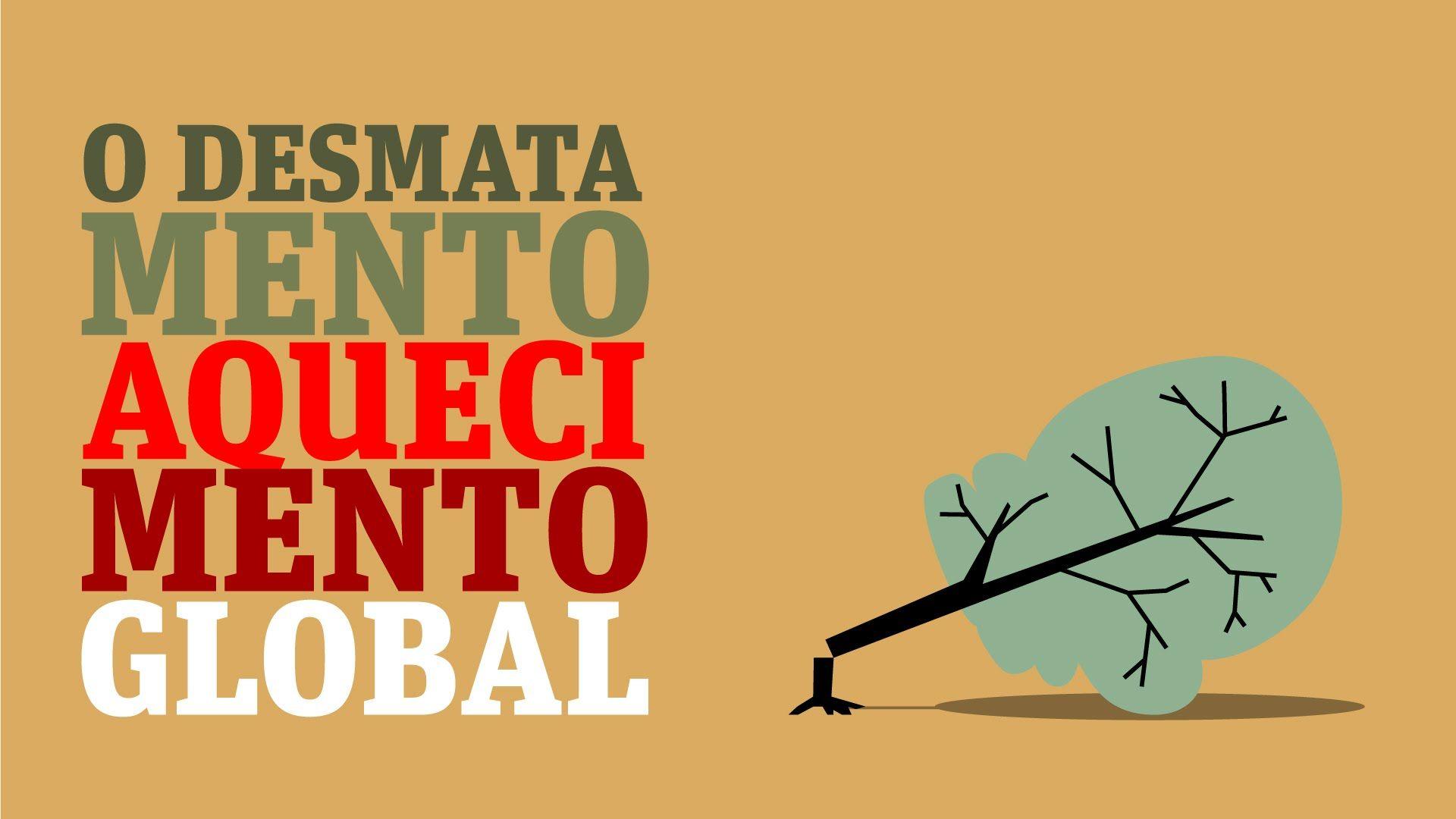 O desmatamento e o aquecimento global