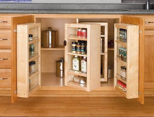 Kitchen Cabinets Ideas kitchen cabinet systems : Base Cabinet Swing-Out Pantry System - kitchen cabinets - Rev-A ...
