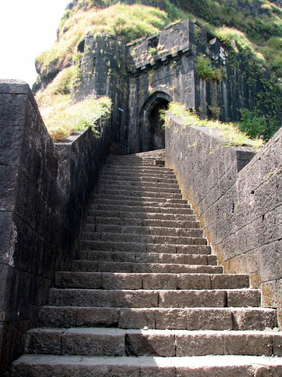 An ode to history a photo montage vijaydurg fort - Lohagad Fort Ruins Marathi Iron Fort Is One Of The Many