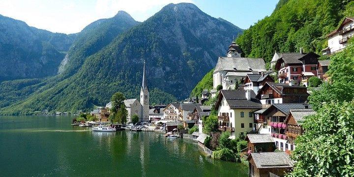 Lake Hallstatt, Austria, Europe