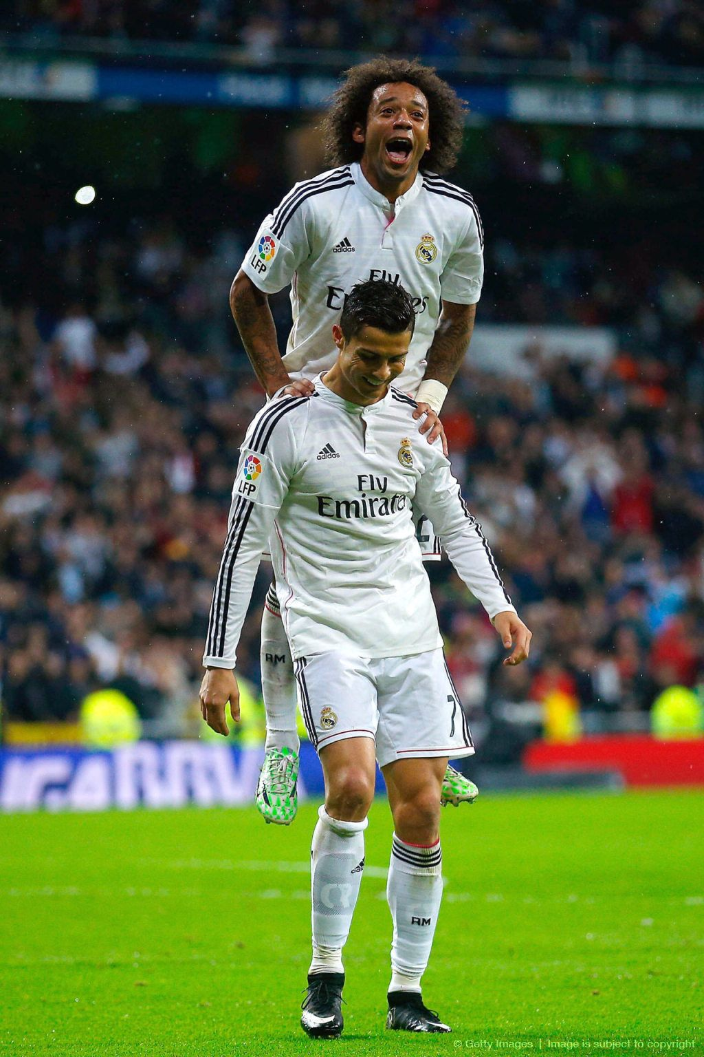 Image result for Marcelo with Cristiano Ronaldo