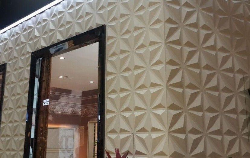 Decorative Wall Tile Panels China Light Weight 3D Pvc Wall Panels Sound Insulation Wall Board
