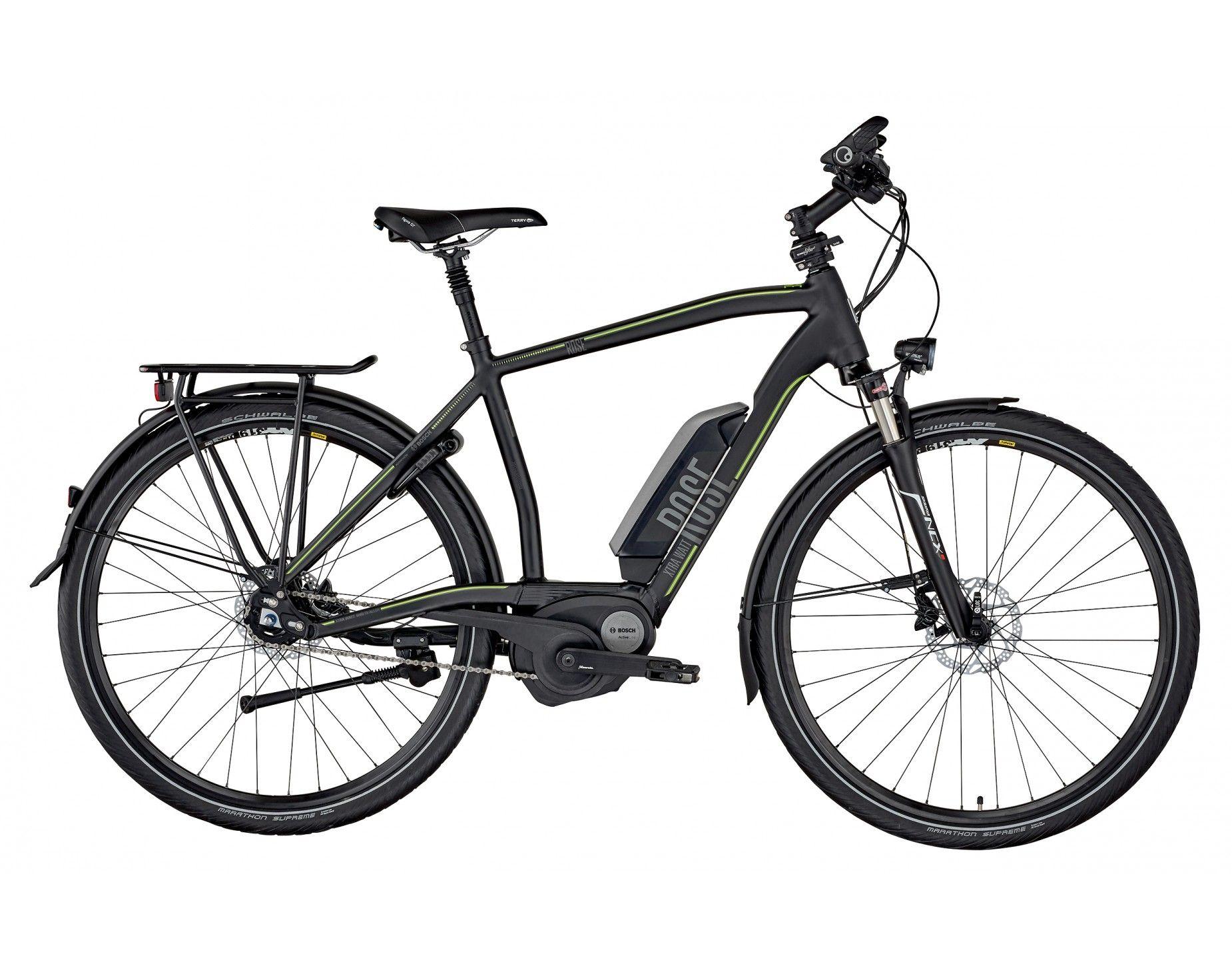 ROSE XTRA WATT-3 HERREN matt-black | Elektro-Bikes & Pedelecs ...