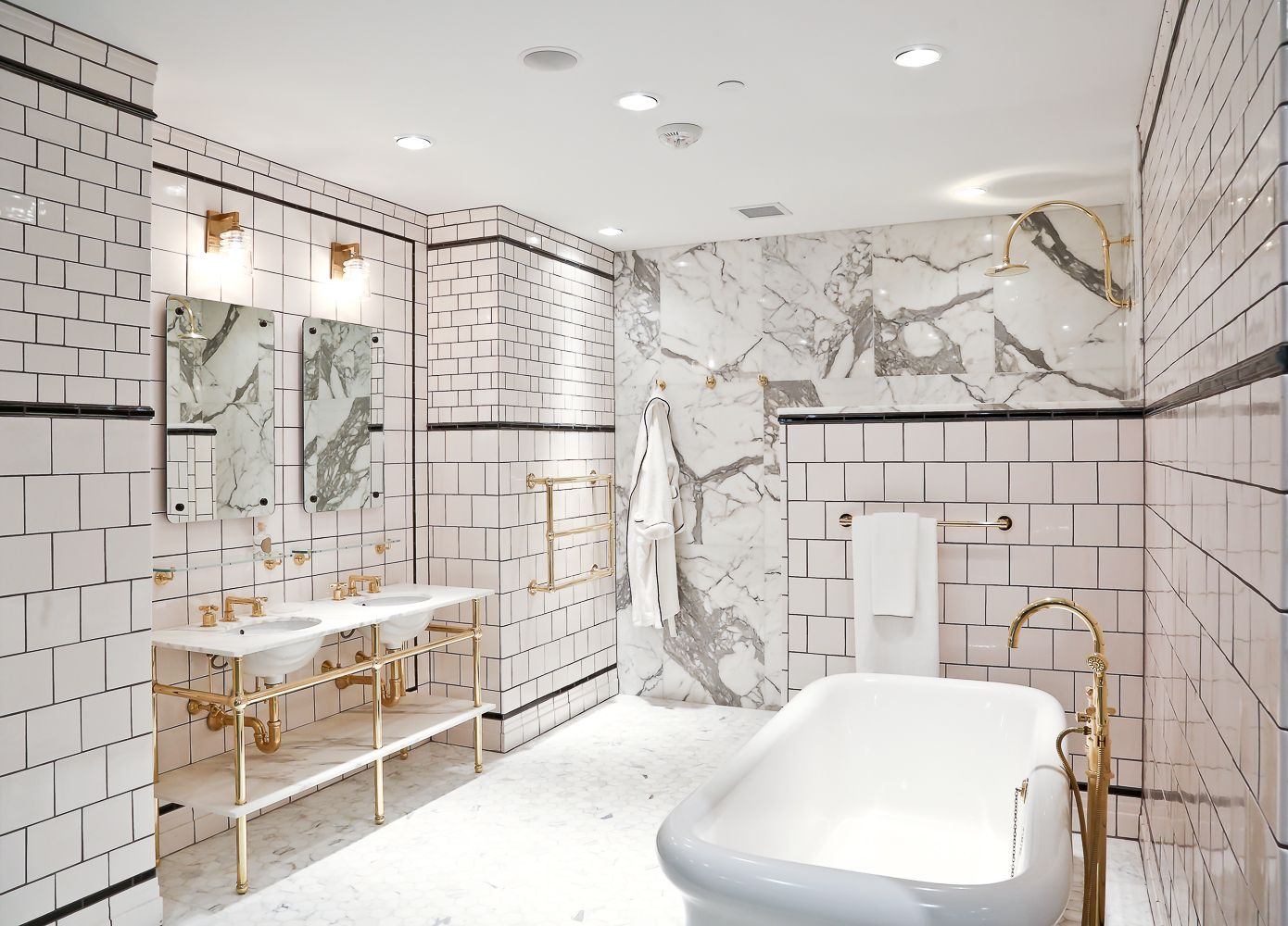 Waterworks White And Brass Bath Bathrooms Pinterest Waterworks