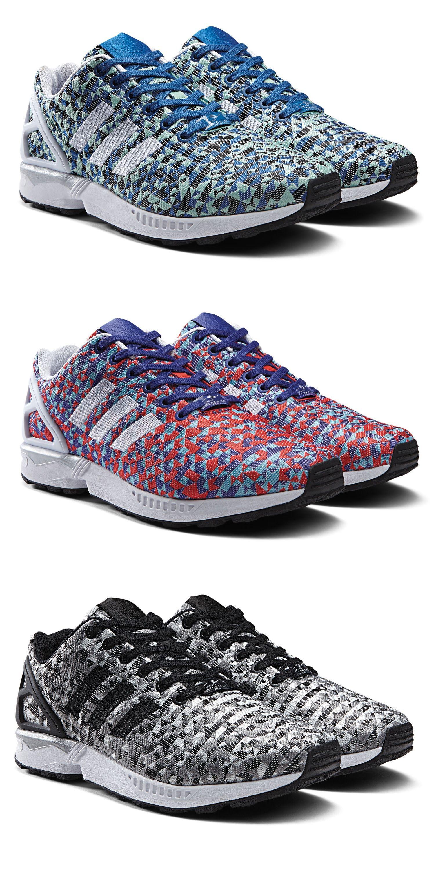 pas cher pour réduction af852 aeda7 adidas ZX Flux Prism Pack | Happy Feet | Nike shoes, Shoes ...