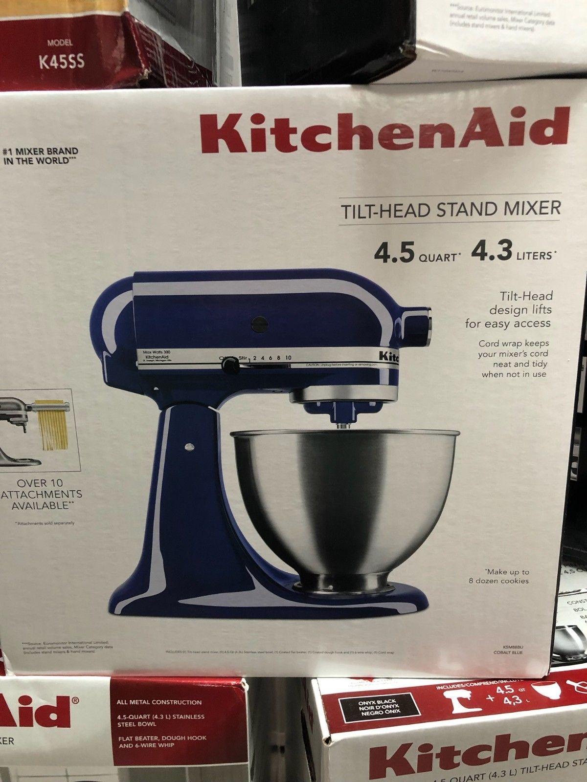 Countertop mixers 133701 kitchen aid mixer cobalt blue