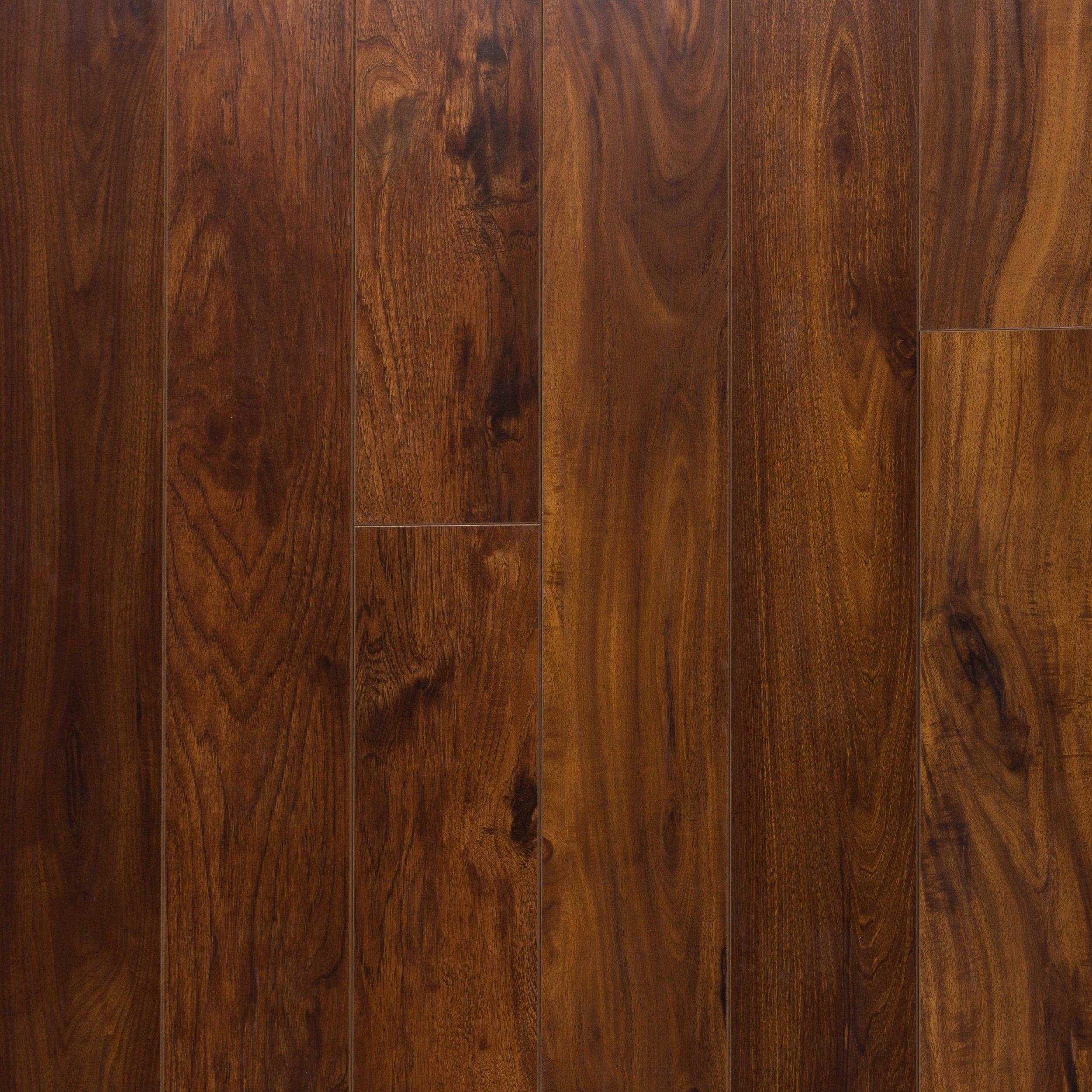 Rosewood Hand Scraped Water Resistant Laminate Flooring