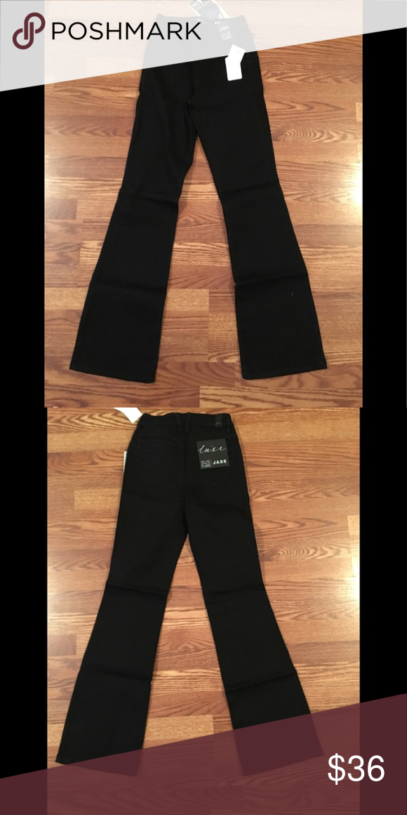 56886508750a97 NWT Luxe Lift High Rise Black Flare Jeans Cute Luxe Lift High Rise Flare  Jeans,