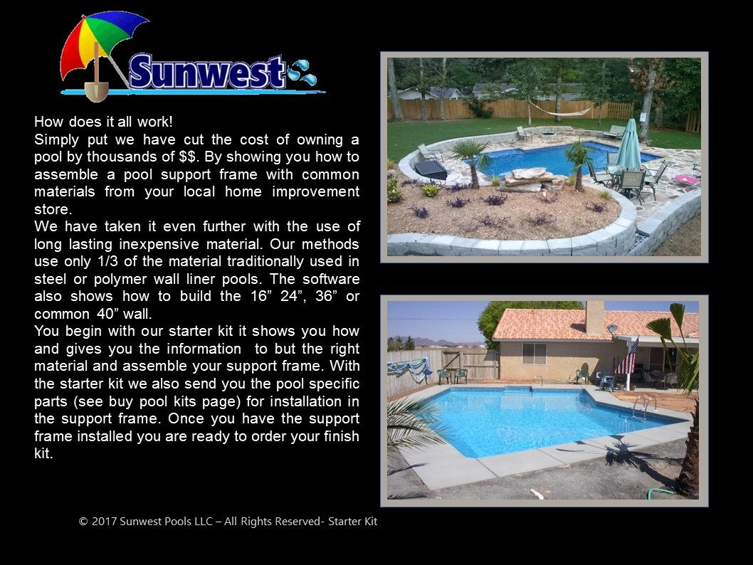 Do it yourself pools inground pools kits backyard pinterest do it yourself pools inground pools kits solutioingenieria Images