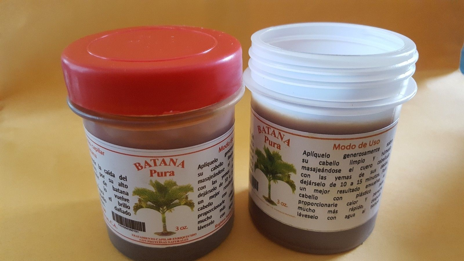 Buy 6 Jars of Pure Batana Oil Made from Ojon Palm Honduras -La
