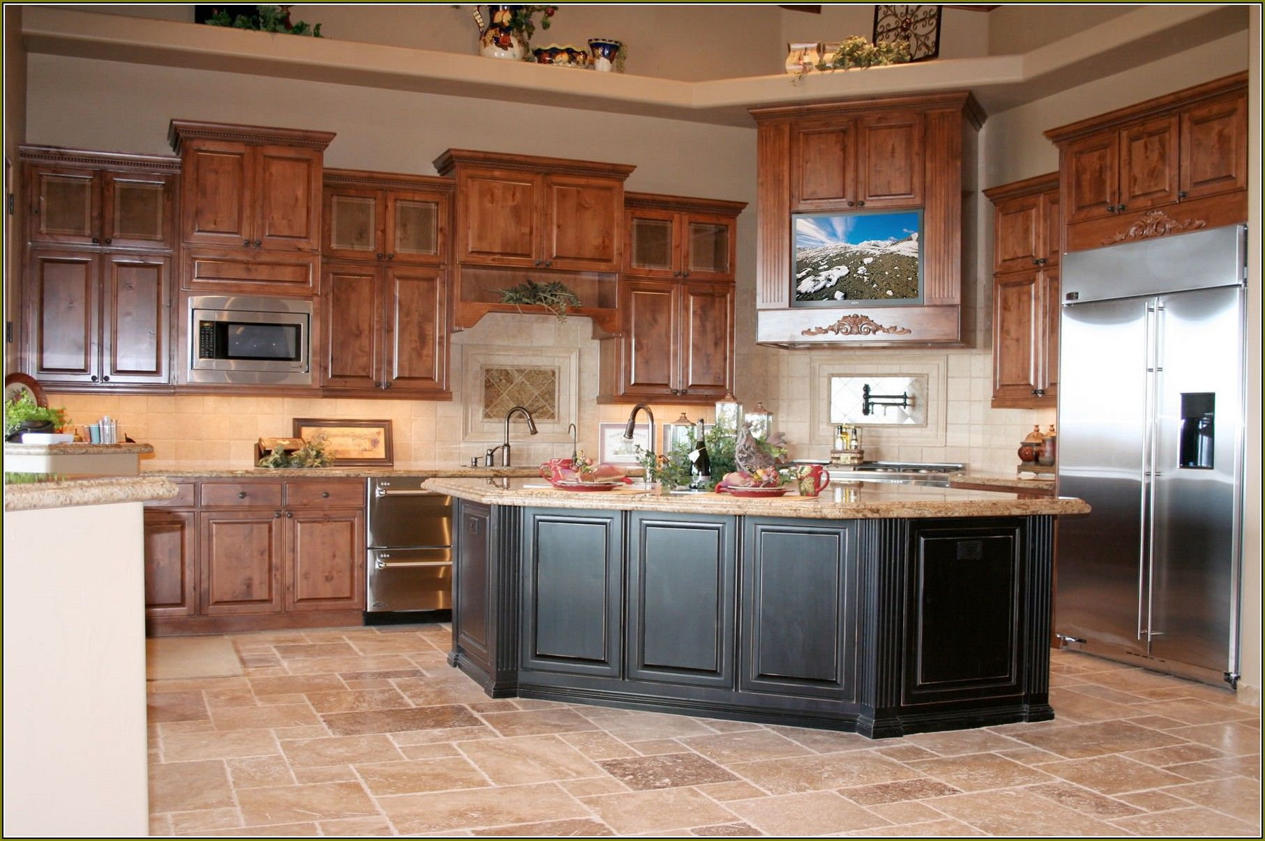 Unique Home Depot Kitchen Cabinets And Countertops The Most Incredible In Addition To Beautiful Cherry Cabinets Kitchen Custom Kitchen Cabinets Cabinet Decor