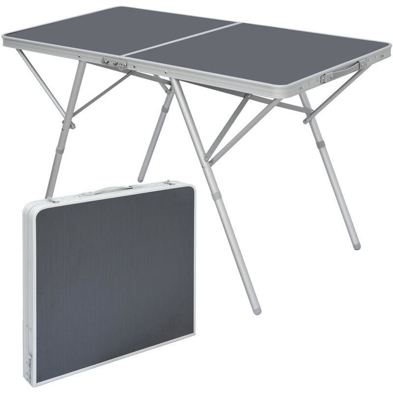 Amanka Table Pliante 120x60x70cm Meuble De Camping Pique Nique Portable Stable Chassis En Alu Plateau En Mdf Anthracit Home Decor Home Remodeling Folding Table