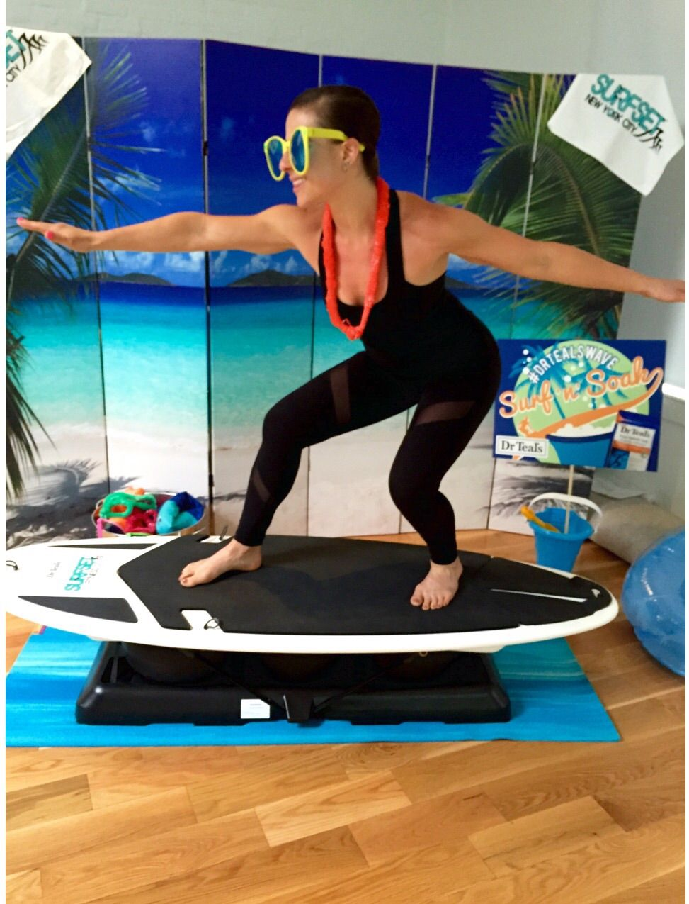WORKOUT WEDNESDAY Surf and Turf surfset surf