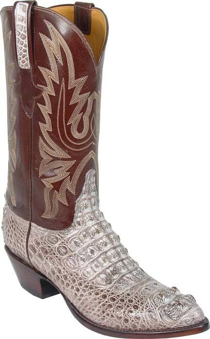 52d0943f870 Lucchese Classics Natural Nile Crocodile Cowboy Boot | wants ...
