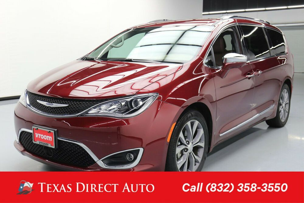 For Sale 2018 Chrysler Pacifica Limited Texas Direct Auto 2018