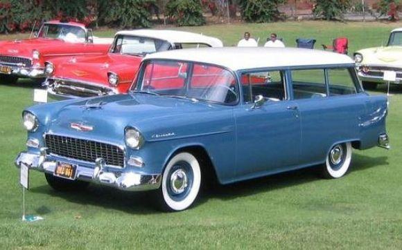 1955 chevrolet 150 2 door wagon looks like my old ugly for 1955 chevy 4 door wagon