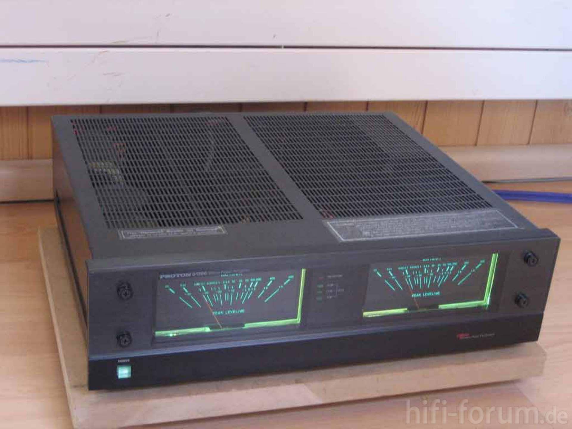 Proton D 1200 Stereoanlagen Anlage