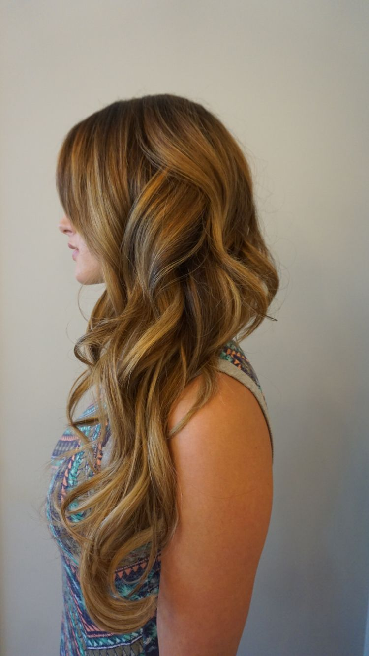 By Hollylikeshair In Portland Or At Blueprint Modern Hair Long Hair Beach Waves Balayage Blonde Highlights Beautiful Hair Hair Beauty Hair Styles