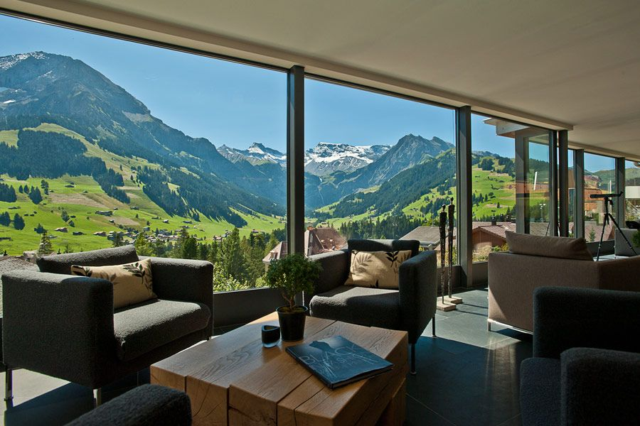 Room with a view: the Cambrian Hotel, Adelboden, Switzerland