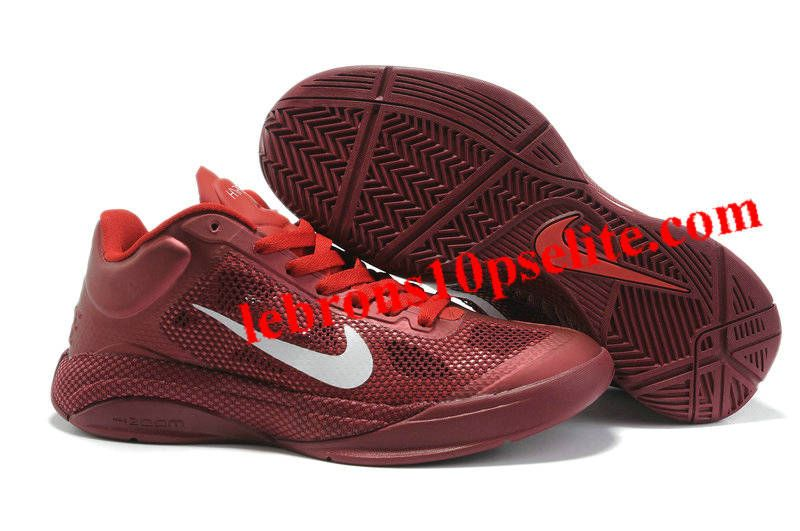 Nike Zoom Hyperfuse Low 2010 Team Red/White/Sport Red
