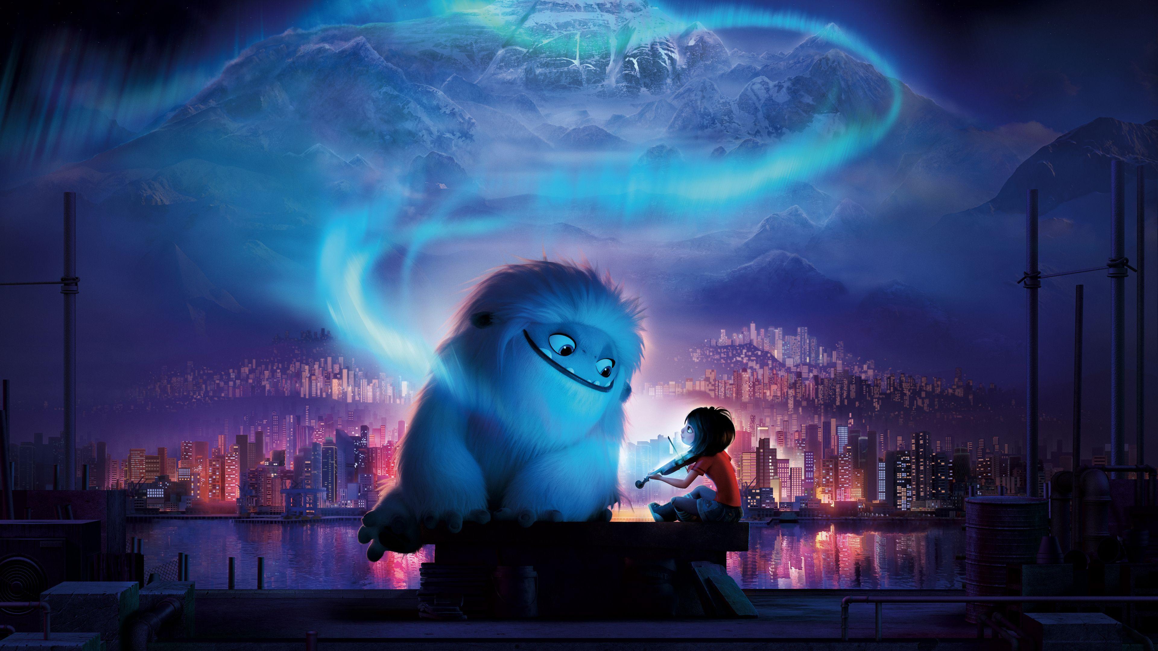 3840x2160 Abominable Animation Movie Yeti And Kid Wallpaper Animation Movie Streaming Movies Streaming Movies Free