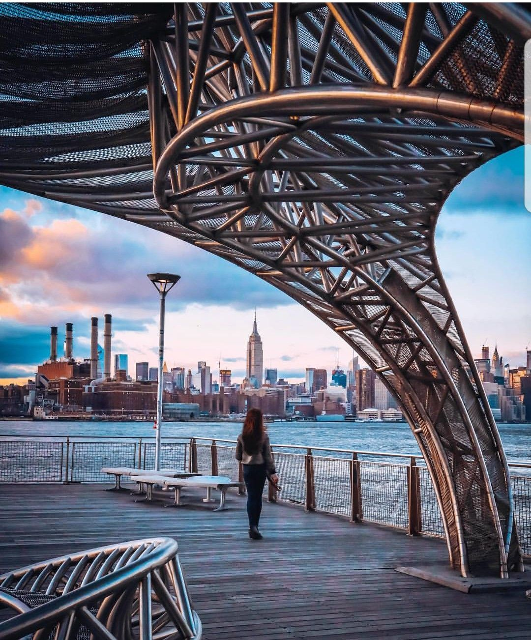 NYC ferry - North Williamsburg station | new york in 2019