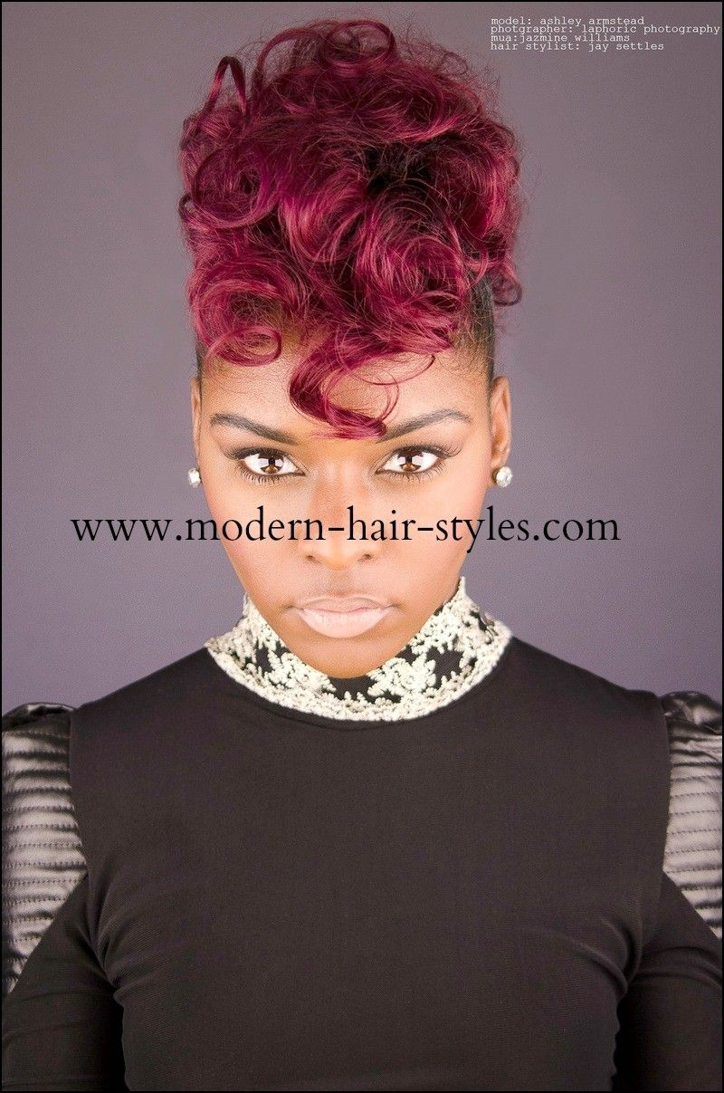 piece hairstyles mohawk mohawks pinterest hair styles hair