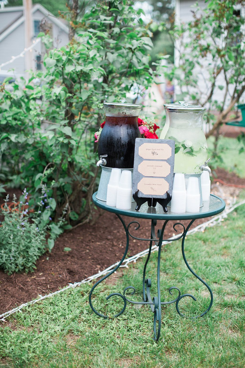 Backyard New England Rehearsal Dinner with catering by ...