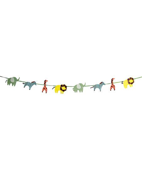 Craft inpiration-Animal Parade Garland