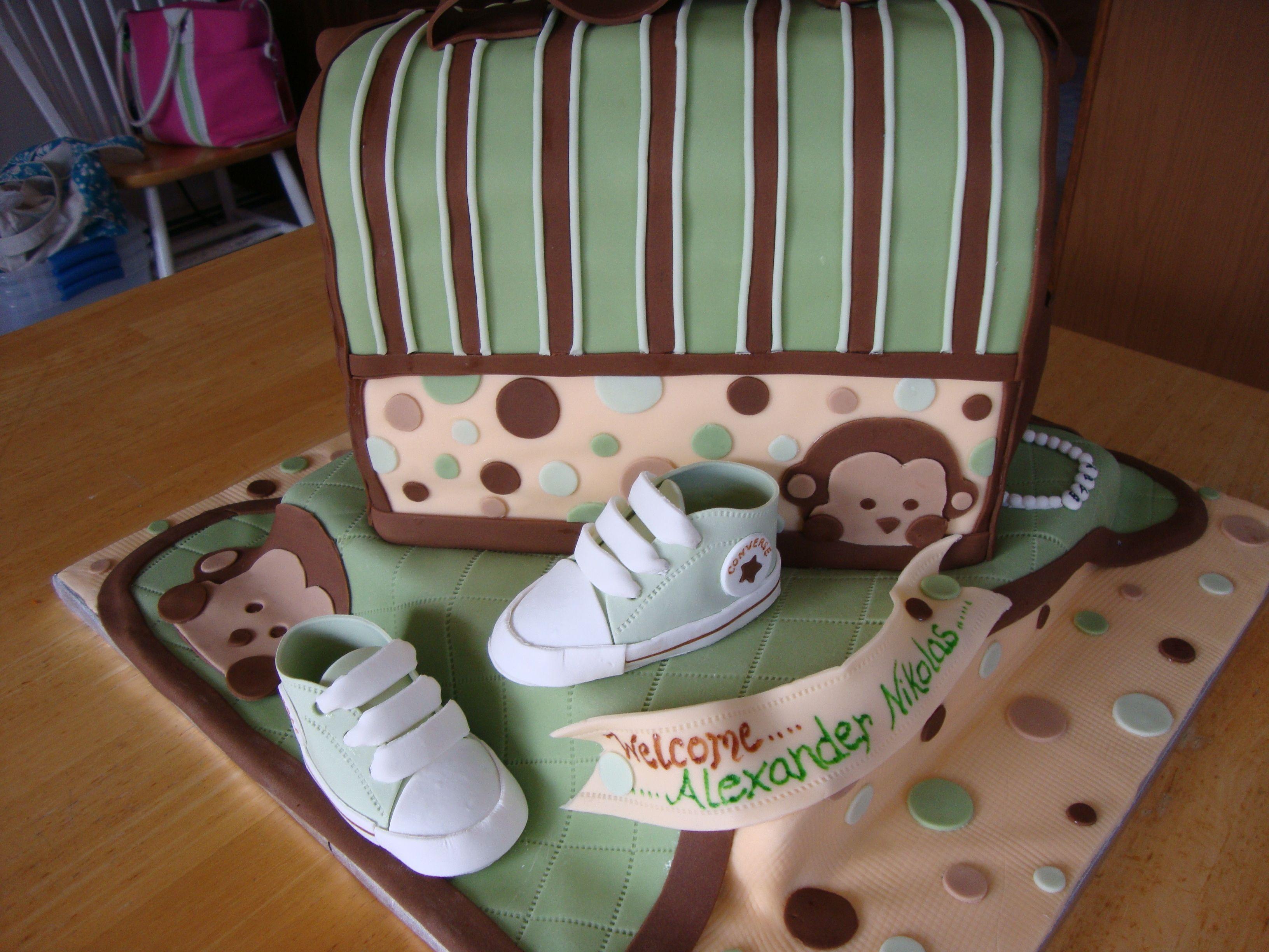 Baby Boy Mod Monkey Baby Shower  Mod Monkey Boy