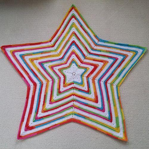 Crochet Star Baby Blanket Free Pattern Crochet For Children