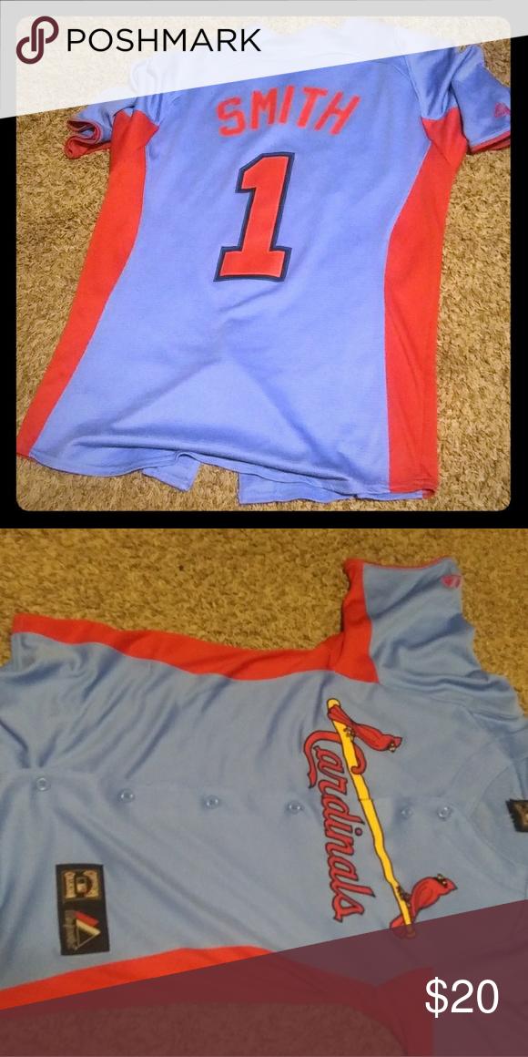 big sale 2e190 1ef9d St Louis Cardinals Authentic Ozzie Smith Jersey St Louis ...