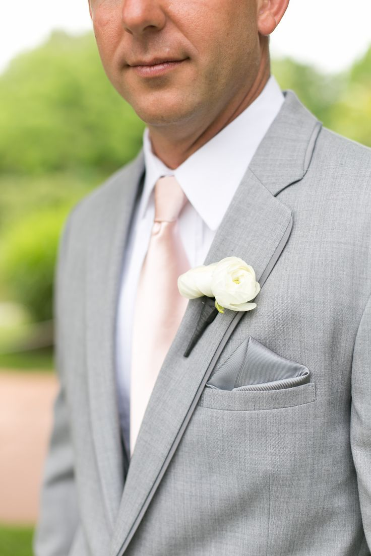 groom ivory tie charcoal suit - Google Search | My Wedding ...