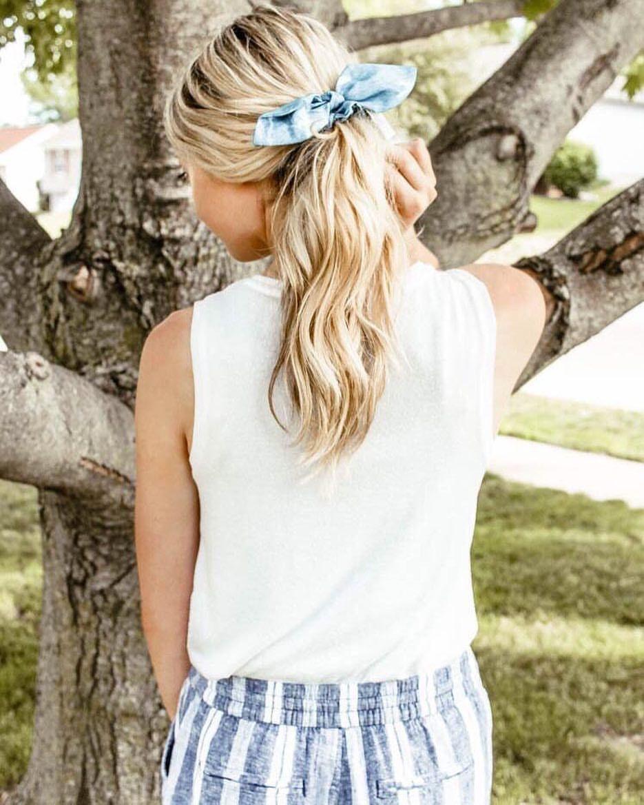 Blonde hair blonde hairstyles ponytail hair bow bow