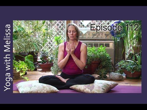 yoga with melissa 112 is on ram in honor of vishnu's